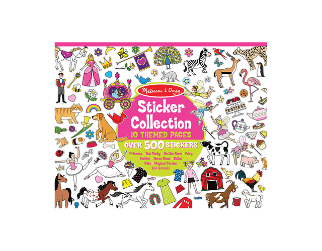 Stickers Collection Girl