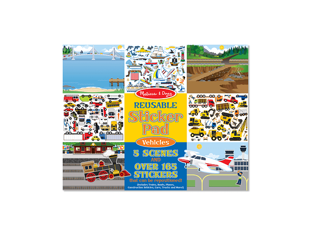 Stickers Reusables- Vehicules