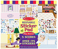 Stickers Reusables- Play House