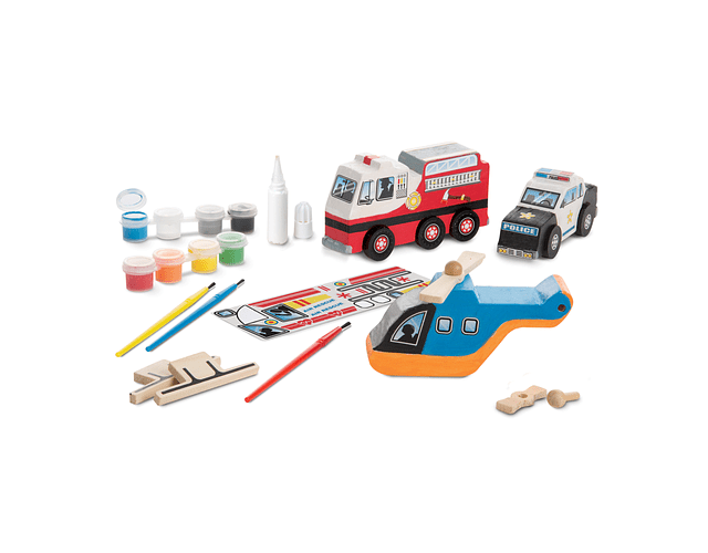 Rescue vehicules- manualidades