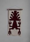 Tapiz Mapuche Bordó