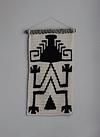Tapiz Mapuche Negro