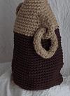 Vasijas altas chocolate y yute