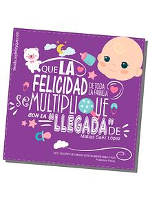 Nacimiento (Saludo Digital - Producto Personalizado)