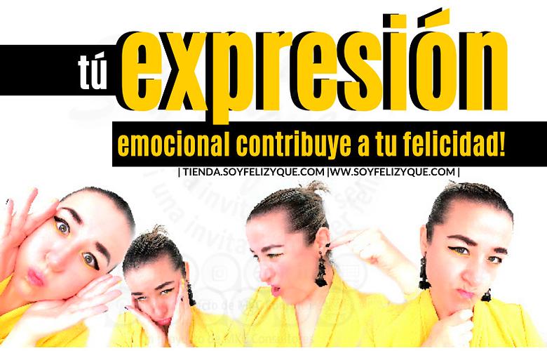 Tu expresión emocional contribuye a tu felicidad