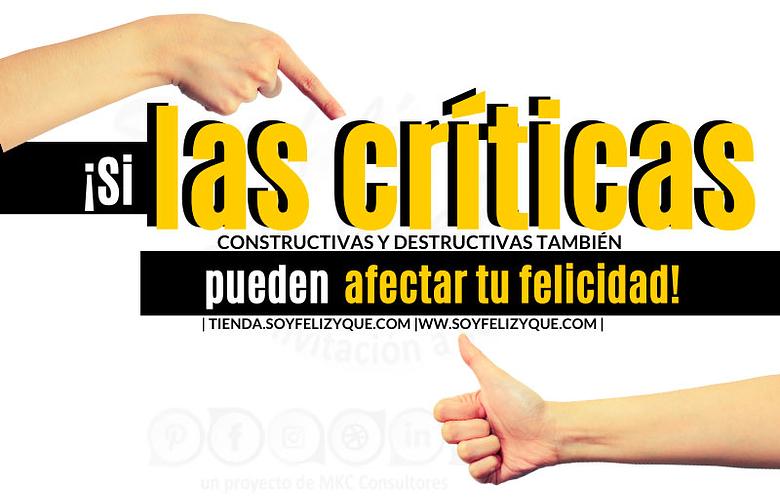 El poder de las críticas