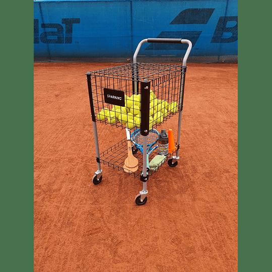 Carro para Pelotas de Tenis