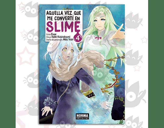 Aquella Vez Que Me Convertí en Slime Vol. 4