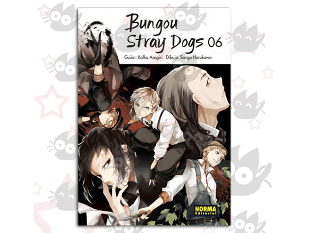 Bungou Stray Dogs Vol. 6