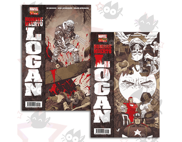 Hombre Muerto Logan #1, #2