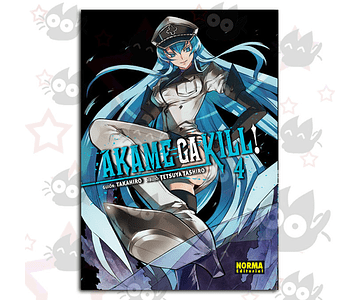 Akame Ga Kill Vol. 4