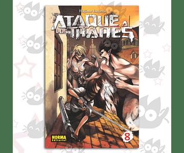 Ataque a los Titanes Vol. 8 - Norma
