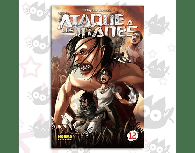 Ataque a los Titanes Vol. 12 - Norma