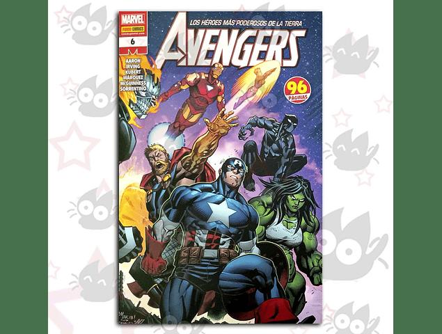 Avengers - Los Héroes mas Poderosos de la Tierra #6
