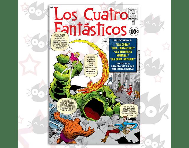 Los Cuatro Fantásticos # 1 - Facsímil 14