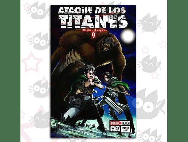 Ataque de los Titanes Vol. 9