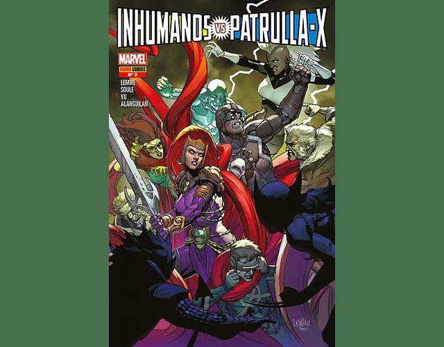 Inhumanos Vs. Patrulla X #1, #2