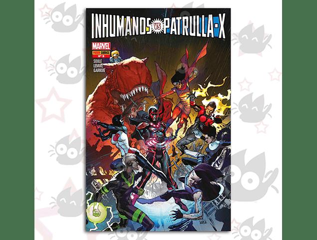 Inhumanos Vs. Patrulla X #3, #4 - G