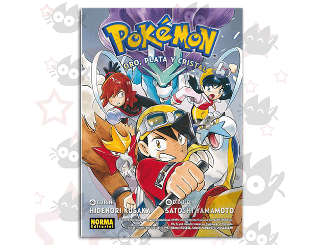 Pokemon Vol. 8: Oro, Plata y Cristal Vol. 4