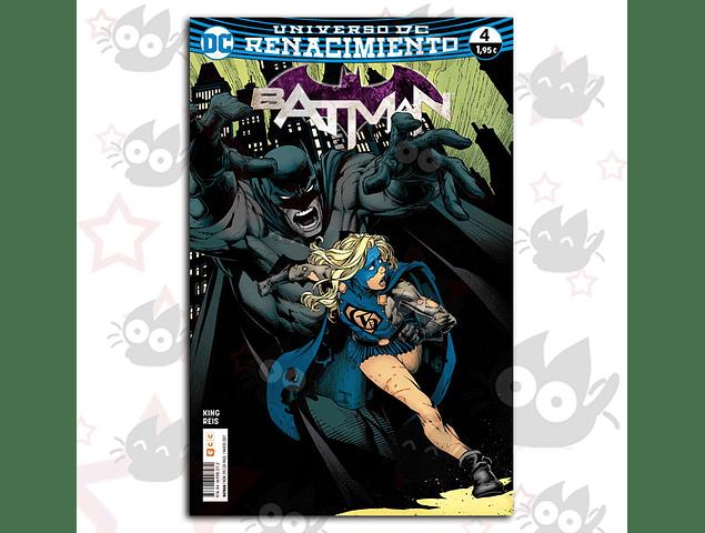 Universo DC Renacimiento Batman #4
