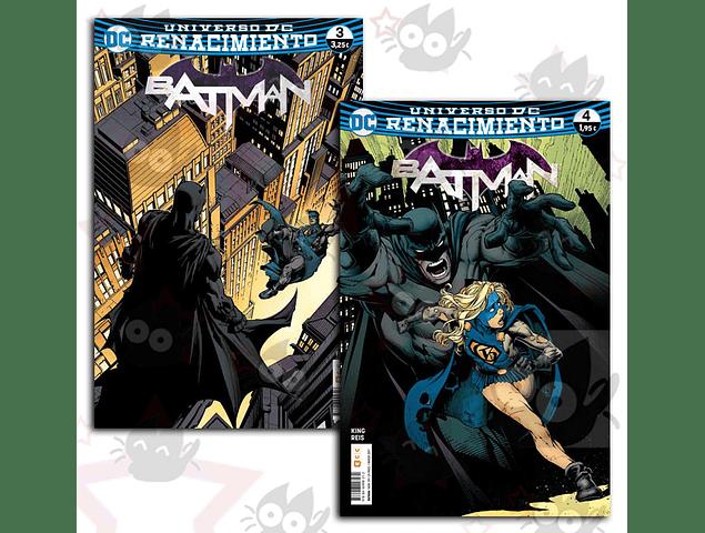 Universo DC Renacimiento Batman #3 y #4