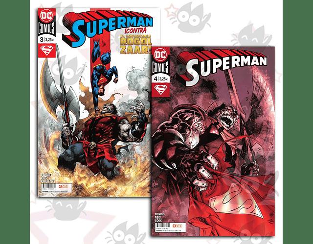 Superman ¡Contra el Invencible Rogol Zaar! #3 y #4