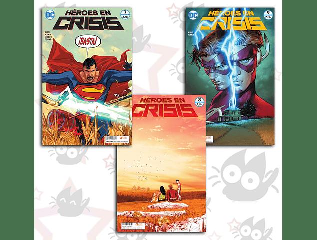 Heroes en Crisis #7, #8, #9