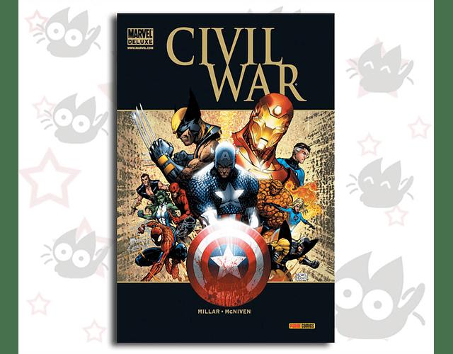 Marvel Deluxe Civil War - G