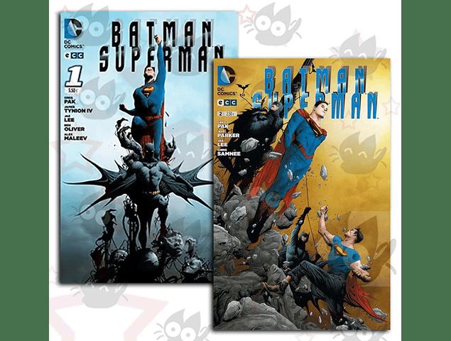 Batman/Superman #1 y #2