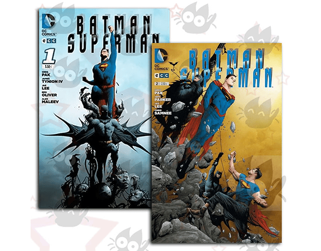 Batman/Superman #1 y #2