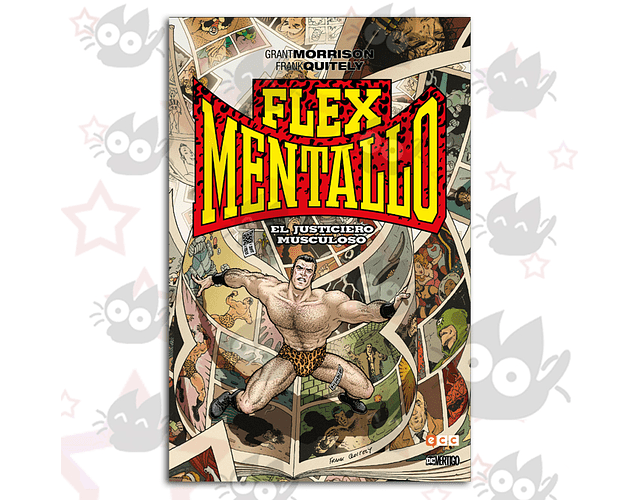 Flex Mentallo: El Justiciero Musculoso (Biblioteca Grant Morrison)