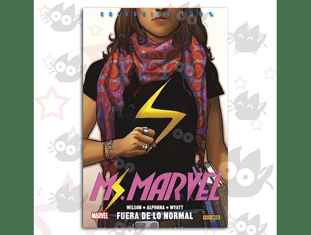 Ms. Marvel Vol. 1 - Fuera De Lo Normal
