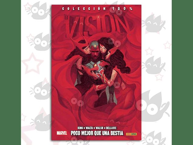 100% Marvel. La Visión Vol. 2 - Poco Mejor Que Una Bestia