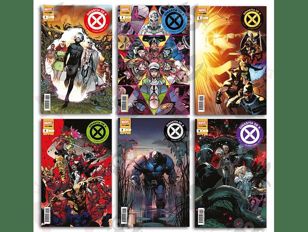 Dinastia de X #1, #2, #3, #4, #5, #6 - Pack Completo
