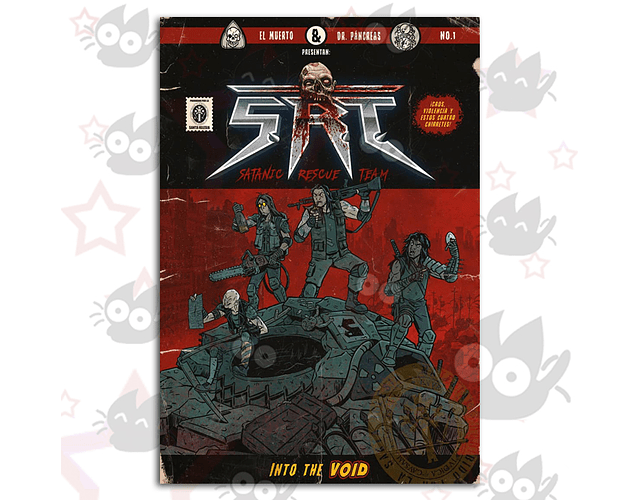 SRT - Satanic Rescue Team # 1 - In To The Void