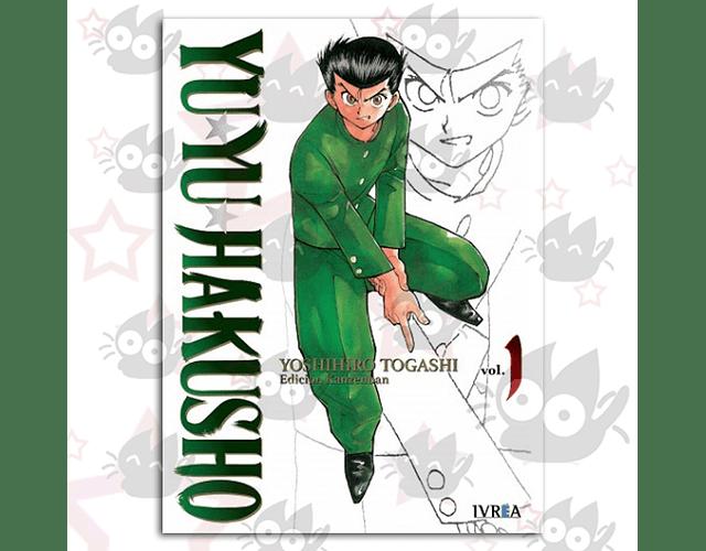 Yuyu Hakusho Vol. 1 - Kanzenban