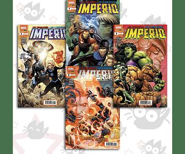 Los Vengadores/Los 4 Fantásticos: Imperio - 1 a 4 (Serie Completa)