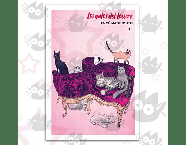 Los Gatos del Louvre (Edición a Color) Vol. 1