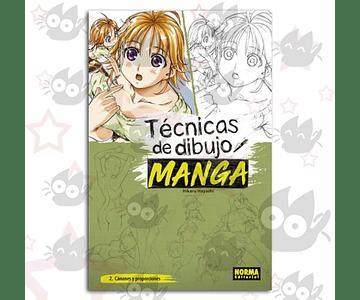 Técnicas de Dibujo de Manga Vol.2 - 2 Proporciones