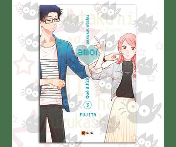 Qué Dificil es el Amor para un Otaku Vol. 3