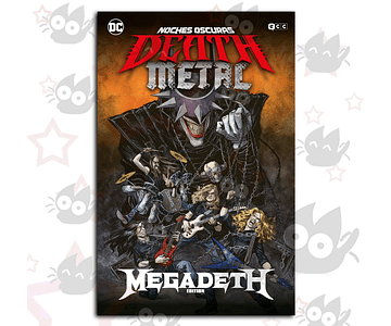 Noches Oscuras Death Metal # 1 - Band Edition : Megadeath (Afiche)