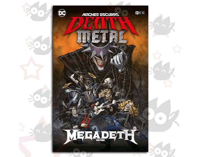 Noches Oscuras Death Metal # 1 - Band Edition : Megadeath