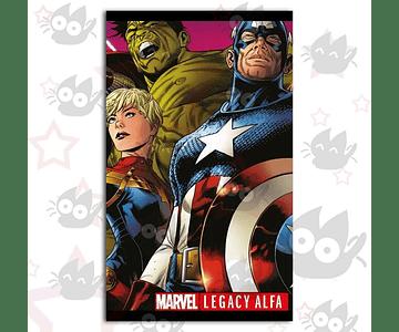 Marvel Legacy: Alfa (Edición Especial) HÉROES MARVEL