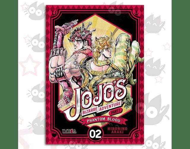 Jojo's Bizarre Adventure - Parte 1 : Phantom Blood Vol. 2