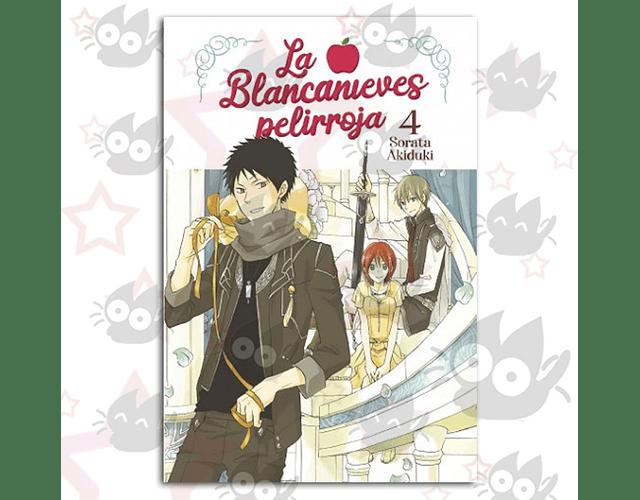 La Blancanieves Pelirroja Vol. 4