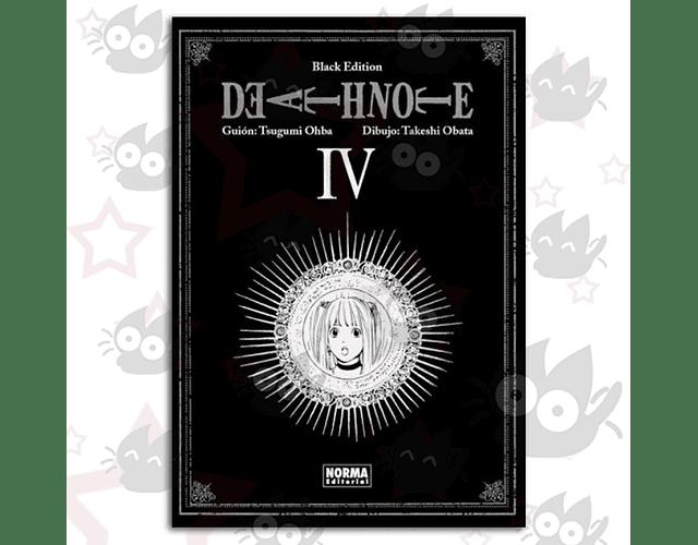 Death Note Vol. 4 Black Edition