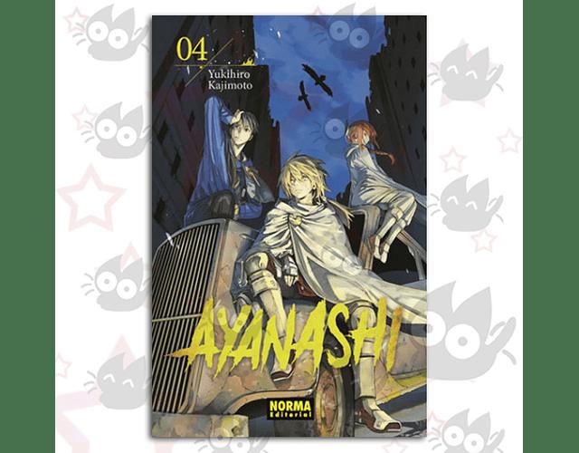 Ayanashi Vol. 4 (Serie de 4)