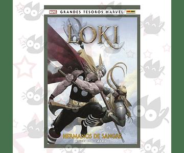 Loki - Hermanos de sangre. GRANDES TESOROS MARVEL