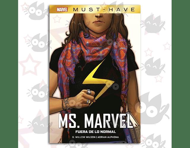Marvel Must-Have. Ms. Marvel: Fuera de lo Normal