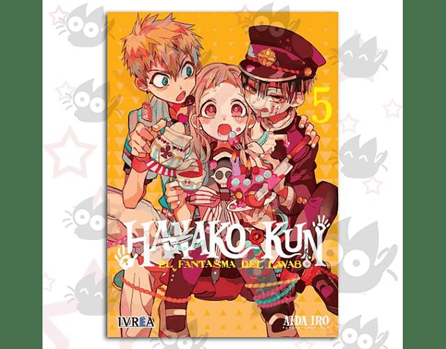 Hanako-Kun, El Fantasma del Lavabo Vol. 5